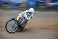 just havin' fun (Cobby17) Tags: vintage nikon racing ama ashland dirttrack flattrack d80 vintagemotorcycledays amaflattrack