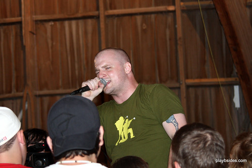 Mac Lethal at the Secrest Barn