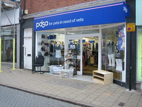 PDSA shop, Long Wyre Street, Colchester