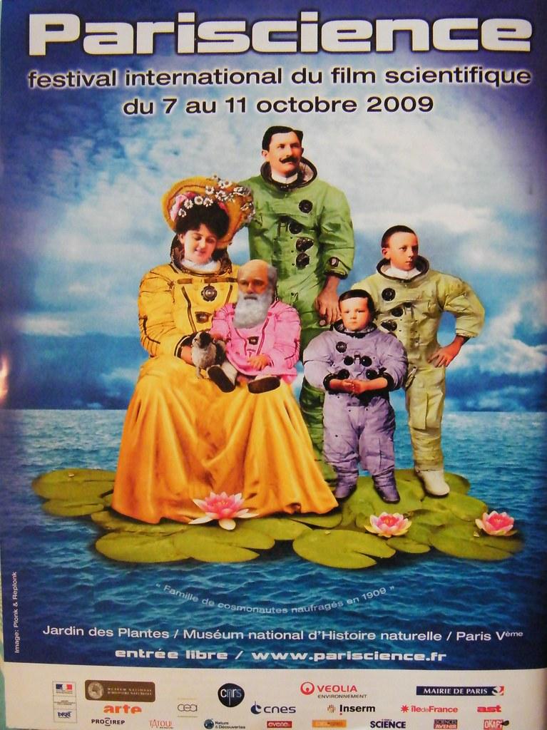 AFFICHE PARISCIENCE 2009