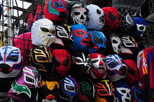 Or a Lucha Libre (Mexican free-style wrestling) mask.