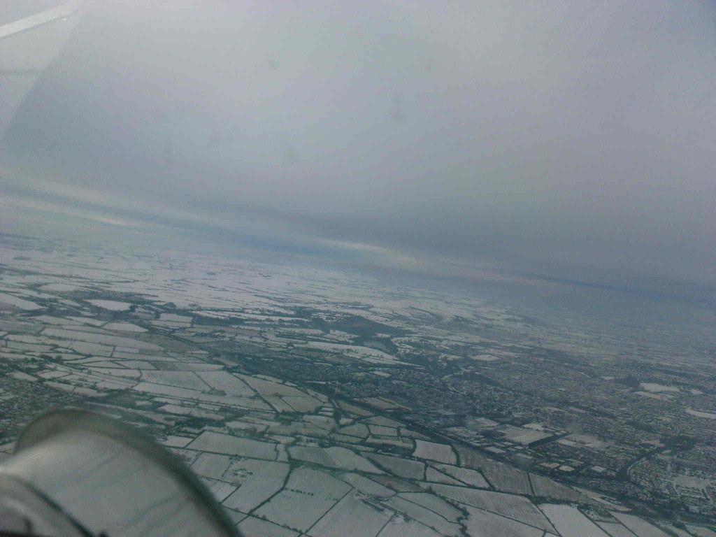 Snow covered Swindon