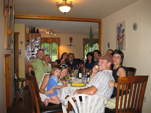 Dinner at MJ's