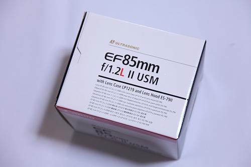 EF85mm F1.2L II USM