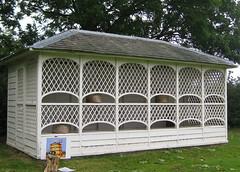 Bee House, Attingham (wonky knee) Tags: uk lines shropshire curves shrewsbury nationaltrust beehives attinghampark beehouse skeps wovenstrawskeps