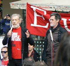 Sir Ian McKellen & Roger Rees