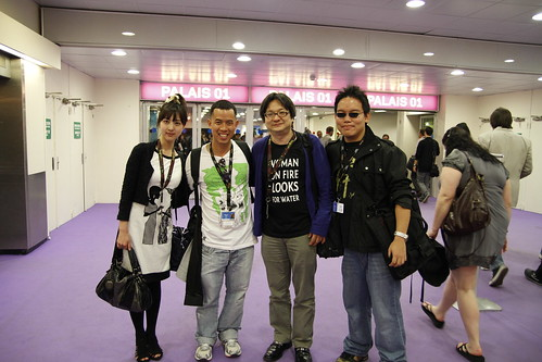 Kiki, Ming Jin, Ono-san and me