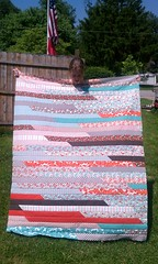 Jelly Roll Race - 1600 Quilt