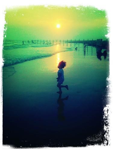 Kid & Sunset