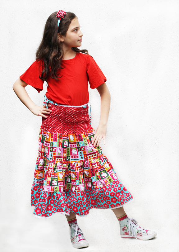 Hello Kitty dress skirt