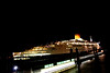 QE2 (Karen_O'D) Tags: light 2 two reflection water night liverpool river boat elizabeth queen tug cunard mersey qe2 qeii merseyside capitalofculture liverpool08