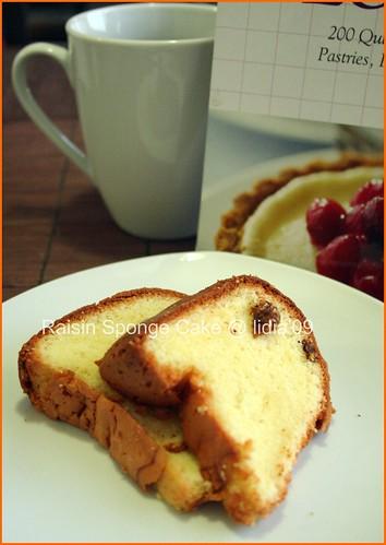 Raisin Sponge Cake2