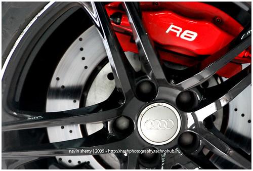 Audi R8,rims