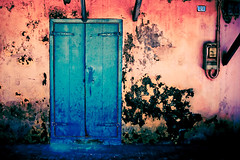 Rasta Texture (Fabi Fliervoet) Tags: pictures street old texture colors saint st wall architecture print doors hand martin photos fb stock caribbean stmaarten rasta sxm sintmaarten netherlandsantilles marigot urbanrural colourartaward fabifliervoet