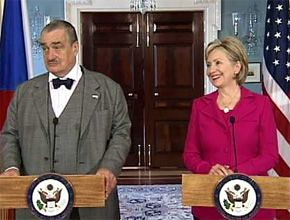 Hillary and Karel Schwarzenberg