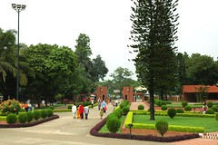 Families at    Jatiyo Smriti Soudho Independence memorial park and gardens, Savar, Dhaka, Bangladesh (Wonderlane) Tags: park brick green gardens garden memorial cloudy families formal overcast walkway 1696 dhaka independence dhania bangladesh savar formalgardens wonderlane jatiyosmritisoudho independencememorialparkandgardens  independencememorialpark