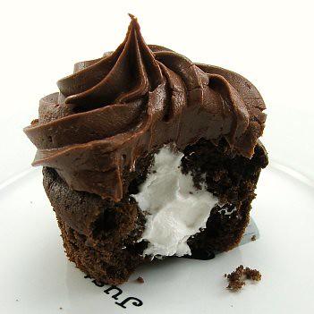 Chocolate Cupcake - Surprise Inside!