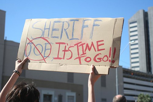 Arpaio demonstration
