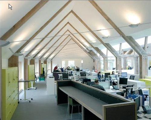 Loch Lomond National Park Authority Modern Office Design by Page Park Architects 2
