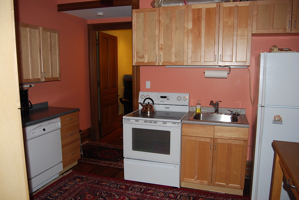 Kitchen at the back of the 1st Floor