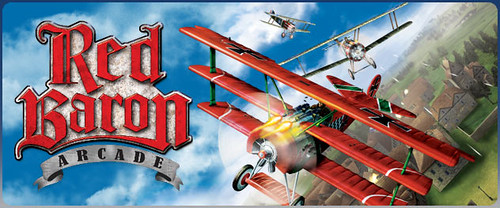 Red Baron Arcade banner art