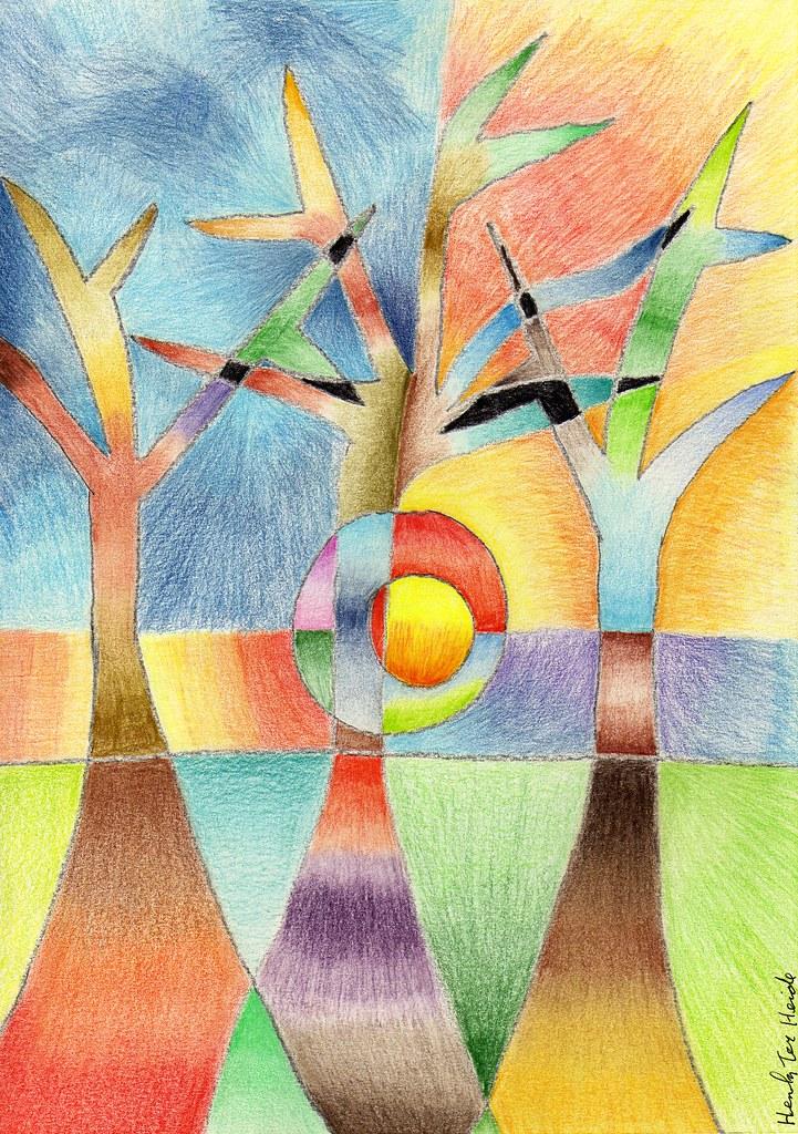 Abstracting three trees