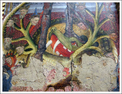 St Michael and the dragon (Martin Beek) Tags: detail macro art closeup museum painting dragon belgium fineart surface study satan antwerp stmichael technique antwerpen tutorial masterpiece artworks revelation colection paintingdetail historyofart koninklijkmuseumvoorschonekunsten artupclose avirtualmuseum masterofcatalonia artexamined