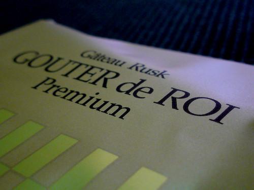 GATEAU FESTA HARADA GOUTER de ROI Premium