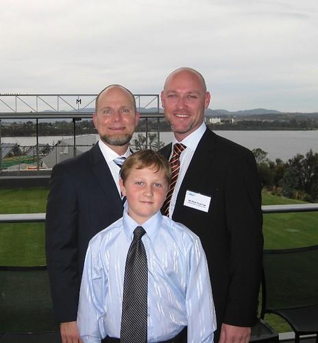 Sandy, Zane & Mark - Hobart, March 2009