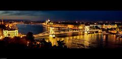 Perfect Tale of Two Cities (Souvik_Prometure) Tags: panorama heritage budapest unesco danube buda pest lánchíd chainbridge széchenyi széchenyilánchíd abigfave souvikbhattacharya