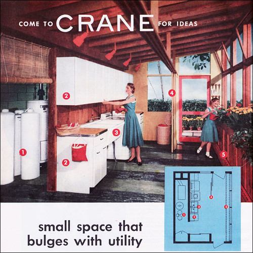 1953 Crane Multipurpose Utility Space