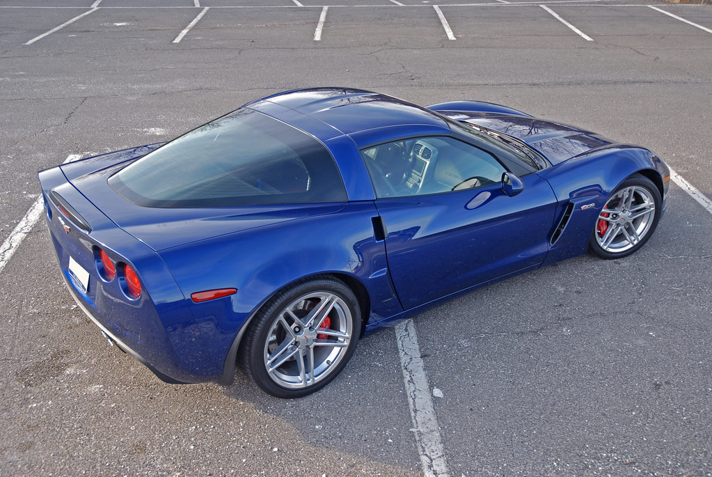 Corvette For Sale In Ga >> 2006 LeMans Blue Z06 - 2LZ - Caravaggio interior ...
