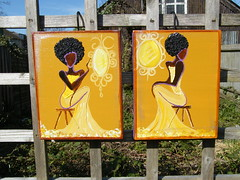 MacuMere sAYs! Collection (ShayGon) Tags: africa uk london afro urbanart caribbean blacklady blackart caribbeanart afroart macumere shaygondesigns blackbritishart