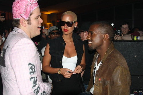 Perez and Kanye by you.