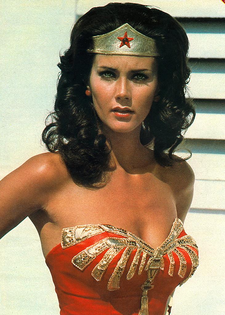 sexy Mujer Maravilla Lynda Carter 1975