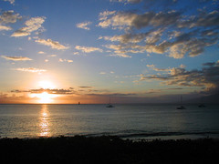 Sunset in Maui (Real Rider) Tags: ocean travel sunset clouds hawaii maui ineffable