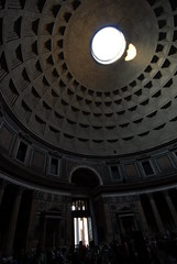 Patheon's Oculus (emilio labrador) Tags: rome beauty architecture design italian pantheon study dome learning proportion hadrian oculus agrippa interiorspace ancientdesign emiliolabrador archetecturalmarvel