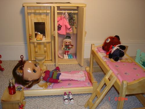 My Blythe bedroom!
