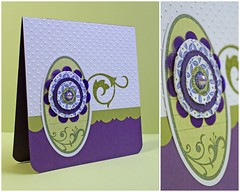 My Lyb Zinnia Card (alexandra s.m.) Tags: scrapbook paper card stamping papier tampons cardmaking carterie artscrapandmore mylittleyellowbicyclesnewcollectionzinnia