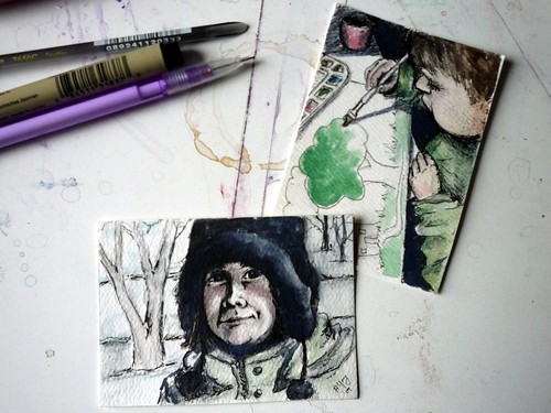 2 ACEO's-in context