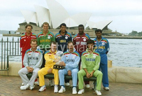 The captains of the worldcup 1992 Sydney 1992 by faisalkhaled1992