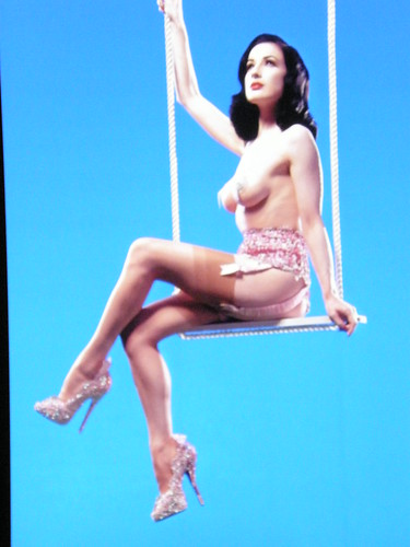 dita von teese topless