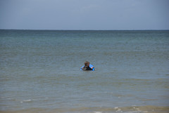 Surf Lesson (michelebikes) Tags: hawaii emily kauai boogieboard spingbreak kauaihawaii