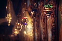 Orthodox vigil lamps. Tanjica Perovic Photography. (Tanjica Perovic) Tags: light church photography bokeh prayer se