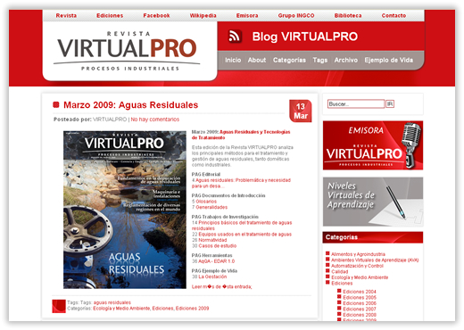 Blog VIRTUALPRO