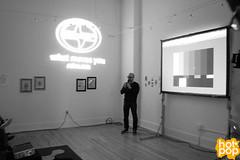 Aaron Rose Artist Talk (hot*pop) Tags: milwaukee aaronrose hotpop beautifullosersdirector