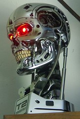 Sideshow and Tell (FelMarWETA) Tags: skull 11 replica terminator lifesize prop collectibles sideshow t2 endo endoskeleton endoskull