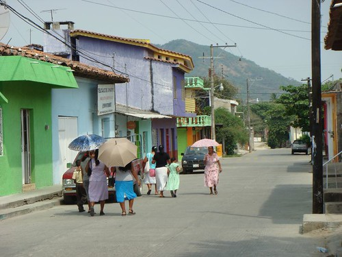 Mexican street scene...