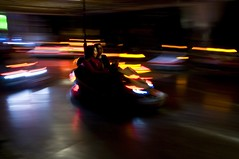 bumper car (Mauro D'Ambrosio (prometeo53)) Tags: fun lights nikon shadows crash bumpercar nikond300