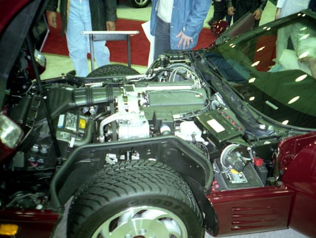 engine 1993 chevy corvette carshow c4 baltimoremd baltimoreconventioncenter motortrendinternationalautoshow